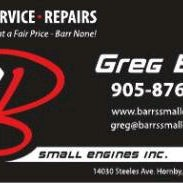 Photo taken at Barr's Small Engine's Inc. by Greg B. on 2/28/2012