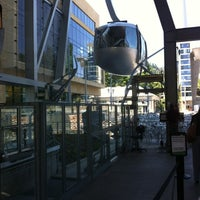 Photo taken at Portland Aerial Tram - Lower Terminal by Jennefer on 7/25/2012