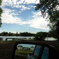 Photo taken at Lake Absaraca by Courtney on 7/28/2012