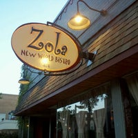 Photo taken at Zola New World Bistro by John K. on 7/30/2012