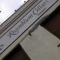 Photo taken at Rosenblum Cellars by Sangraal A. on 3/17/2012