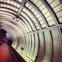 Photo taken at Woodley Park-Zoo/Adams Morgan Metro Station by Chanda H. on 4/30/2012