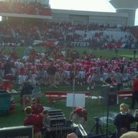 Photo taken at Houchens Industries-L.T. Smith Stadium by Trina B. on 11/28/2011