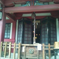 Photo taken at 市谷亀岡八幡宮 by julie E. on 6/11/2012