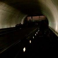 Photo taken at Tenleytown-AU Metro Station by Anna J. on 3/7/2011