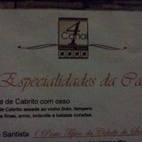 Foto tomada en Canal 4 Restaurante e Pizzaria por Marcus P. el 1/18/2012