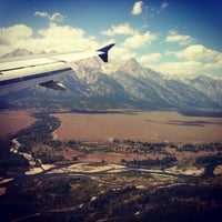 Photo taken at Jackson Hole Airport (JAC) by Bob M. on 9/2/2012
