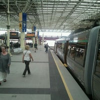 Photo taken at Perth Station by Ben Woodward's B. on 11/3/2011