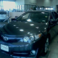 Photo taken at San Marcos Toyota by Maria E. on 9/24/2011