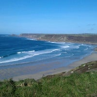 Photo taken at Sennen Cove by Laurence D. on 11/1/2011