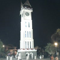 Photo taken at Jam Gadang by Shelly L. on 9/1/2012