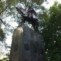 8/28/2012 tarihinde Daniel W.ziyaretçi tarafından Simon Bolivar Statue'de çekilen fotoğraf