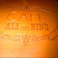 Photo taken at Ali & Nino Cafe by Khanum G. on 9/5/2012