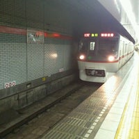 Photo taken at Asakusa Line Higashi-ginza Station (A11) by Jean Pierre P. on 9/24/2011