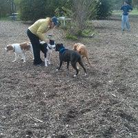 Photo taken at Alston Dog Park by Mecaela M. on 11/27/2011