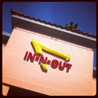 Photo taken at In-N-Out Burger by brendan d. on 4/21/2012