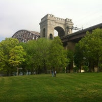 Photo taken at Astoria Park by Matty U. on 4/21/2012