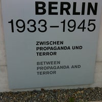 Photo taken at Topography of Terror by Chiara M. on 5/4/2012