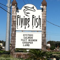 Photo taken at Flying Fish Cafe & Wine Bar by  Holly O. on 11/24/2011