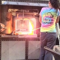 Photo taken at Seattle Glassblowing Studio & Gallery by Kate S. on 9/18/2011