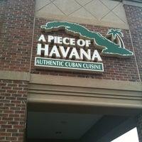 Photo taken at A Piece of Havana by Gretel L. on 10/9/2011