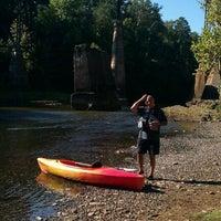 Photo taken at Saluda River by J Michael M. on 9/10/2011