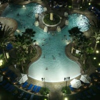 Photo taken at Wyndham Grand Orlando Resort-Bonnet Creek by Robert L. on 4/3/2012