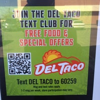 Photo taken at Del Taco by The battery guy B. on 2/27/2012