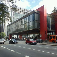 Photo taken at São Paulo Museum of Art by Cleber V. on 11/2/2011