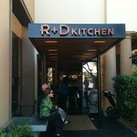Photo taken at R+D Kitchen by Tsuyoshi O. on 2/26/2012