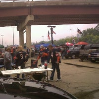Photo taken at Chicago Bears Ultimate Tailgate by Carole M. on 9/25/2011