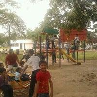 Photo taken at Parque Infantil de la Plaza Andrés Bello by Carlos A. on 12/12/2011