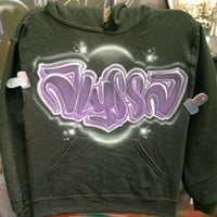 Photo taken at Airbrush Customs by Dale J. on 8/1/2012