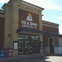 Photo taken at Sea Dog Brewing Company by Jillian Hansen . on 9/3/2012
