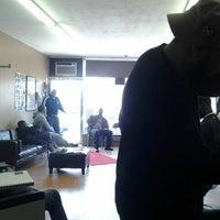 Photo taken at Greg's Phillys & Fades by DJ Stewie G. on 4/13/2012