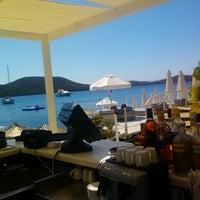 Photo taken at Doria Beach by Erdal C. on 8/30/2012