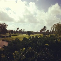 Photo taken at Crandon Golf at Key Biscayne by Sam L. on 11/14/2011