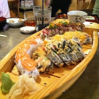 Photo taken at Wasabi Sushi Bar by Andy H. on 9/30/2011