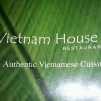 Photo taken at Vietnam House by Yesenia C. on 1/9/2012