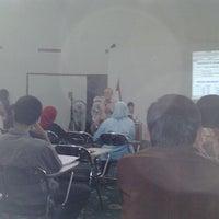 Photo taken at ruang auditorium lt 4 FK UMJ by nadia g. on 10/27/2011
