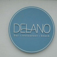 รูปภาพถ่ายที่ Delano โดย Chris G. เมื่อ 4/12/2012