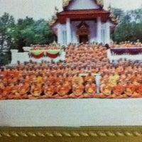 Photo taken at Wat Mongkoltepmunee (Thai Buddhist Temple) by Marilynn P. on 6/29/2012