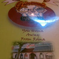 Photo taken at Giovanni's Pasta Pizza Palace by Lisa S. on 6/30/2012