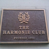 Photo taken at The Harmonie Club by Paolo P. on 9/24/2011