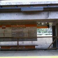 Photo taken at MBTA Wellington Station by John W. on 9/5/2011