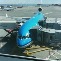 Photo taken at Gate A7 by Tom M. on 3/2/2012