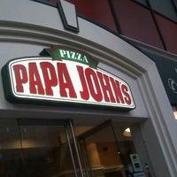 Photo taken at Papa John's by Sam C. on 12/22/2011