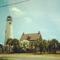 Photo taken at Saint George Island, FL by Michele S. on 4/28/2012