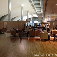 Photo taken at Emirates Business Class Lounge by Zubair (Зубаир) R. on 7/18/2012