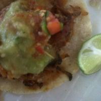 Photo taken at Tacos Paza by Nessita V. on 4/9/2012